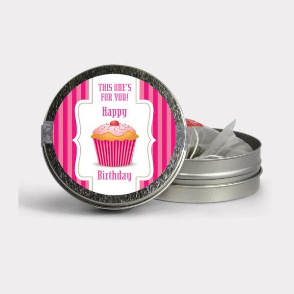 BP 011M Birthday Pink MINI TIN 2