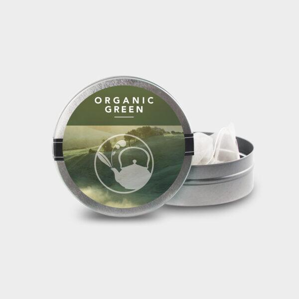 NEW Organic Green MINI TIN