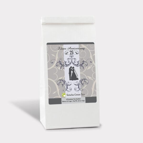 ANN 002B 25 Silver Anniv BrideGroom Art BAG