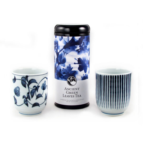 Blue and White Pattern Gift Set