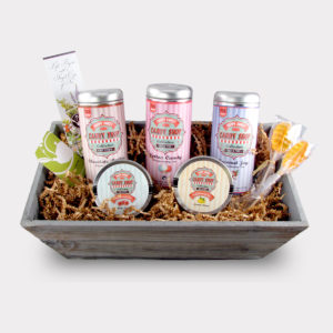 Healthy Customizable Large Candy Tea Gift Basket For Mother's Day, Valentine's Day, Summer, Birthdays, and other Holidays