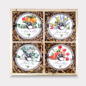Fruity and Light Wooden Floral Tea Mini Tin Variety Box