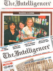 Featured in The Intelligencer April 9 2013