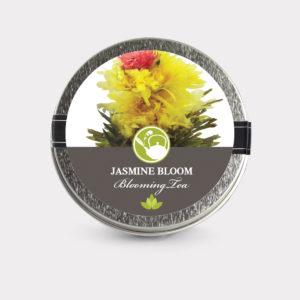 Jasmine Bloom Green Tea Blooming Tea Mini Tin