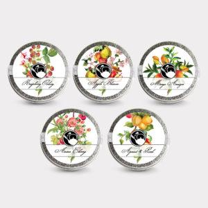 Healthy Customizable 5 Fruity Tea Mini Tin Variety Pack
