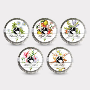 Healthy Customizable 5 Herbal Blend Tea Mini Tin Variety Pack