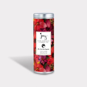 Healthy and Caffeine-free Joy Pink Hibiscus Flower Tea Skinny Tin for Breast Cancer Awareness and Fundraisers
