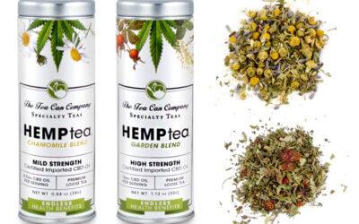 HEMPtea – Cannabinoid-Infused (CBD) Herbal Blends