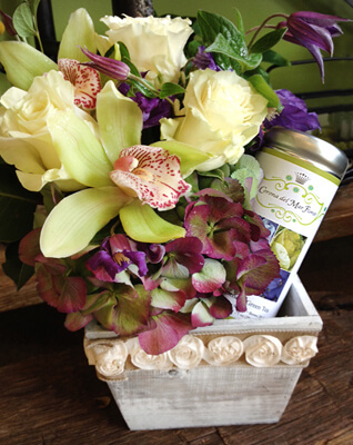 Look what Corona Del Mar Florist did with our Tea!