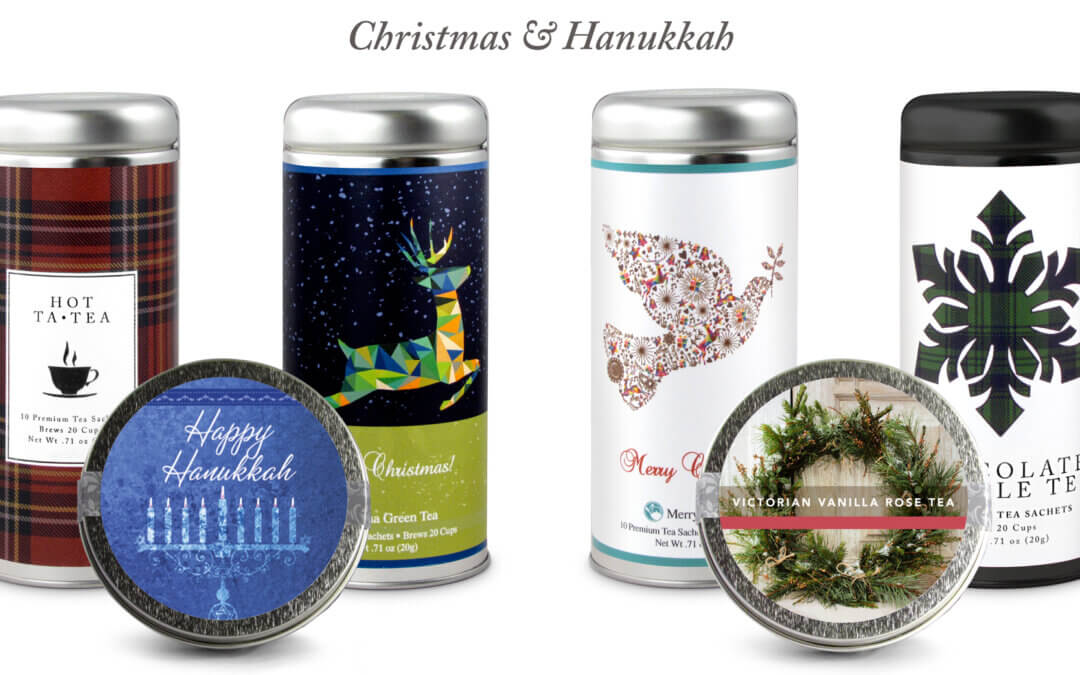 The Perfect Corporate Gift: Holiday Tea Personalized to your Brand!