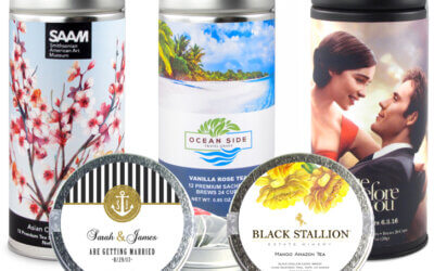 TURNING OVER A NEW LEAF WITH TEA PROMOTIONAL ITEMS