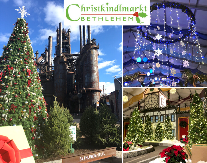 THE BEST HOLIDAY SHOPPING WITH LOTS OF FAMILY FUN IN HISTORIC BETHLEHEM PENNSYLVANIA