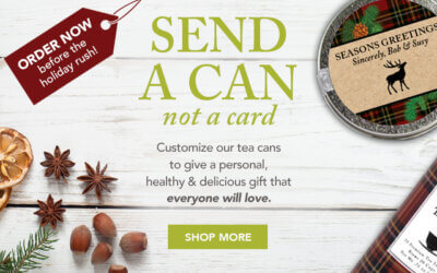 Corporate Gifting with Tea Made Easy with A Lasting Message…Sip by Sip