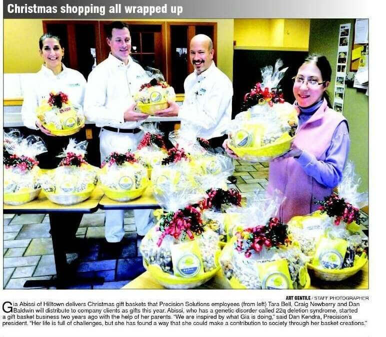 Congrats Gia Abissi – Yellow Spot Baskets
