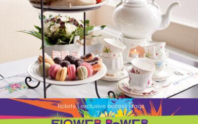 Philadelphia Flower Show and Flower Power Garden Tea