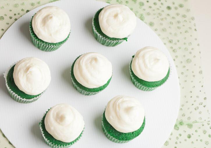 Glorious Green Tea Cupcakes