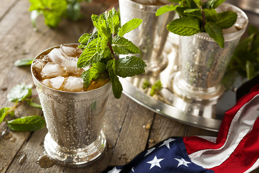 Celebrate with a Mint Julep this Memorial Day
