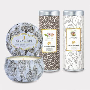 Wild White Currant Candle & Tea Gift Set