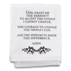 serenity prayer tea towel