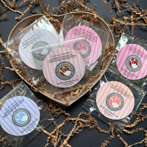 Sweet Small Candy Heart Cello Tea Samplers Gift Set for Mother's Day, Valentine's Day, Father's Day, Birthdays, and other Holidays