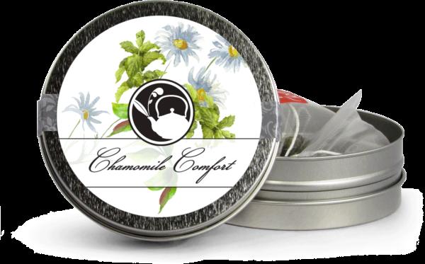 Calming Chamomile Comfort Silver Mini Tin