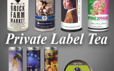 How You Can Help Your Business by Creating Your Own Private Tea Can Label