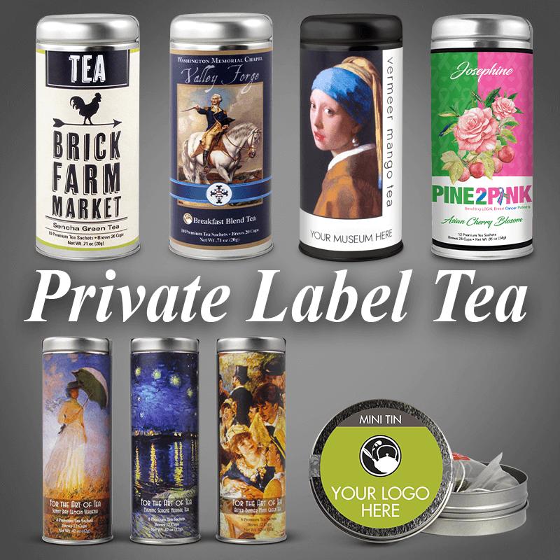 private label tea