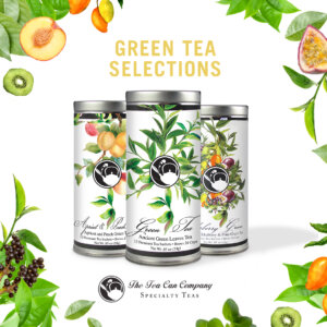 green tea selections