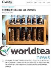 world tea news hemptea trending as a cbd alternative
