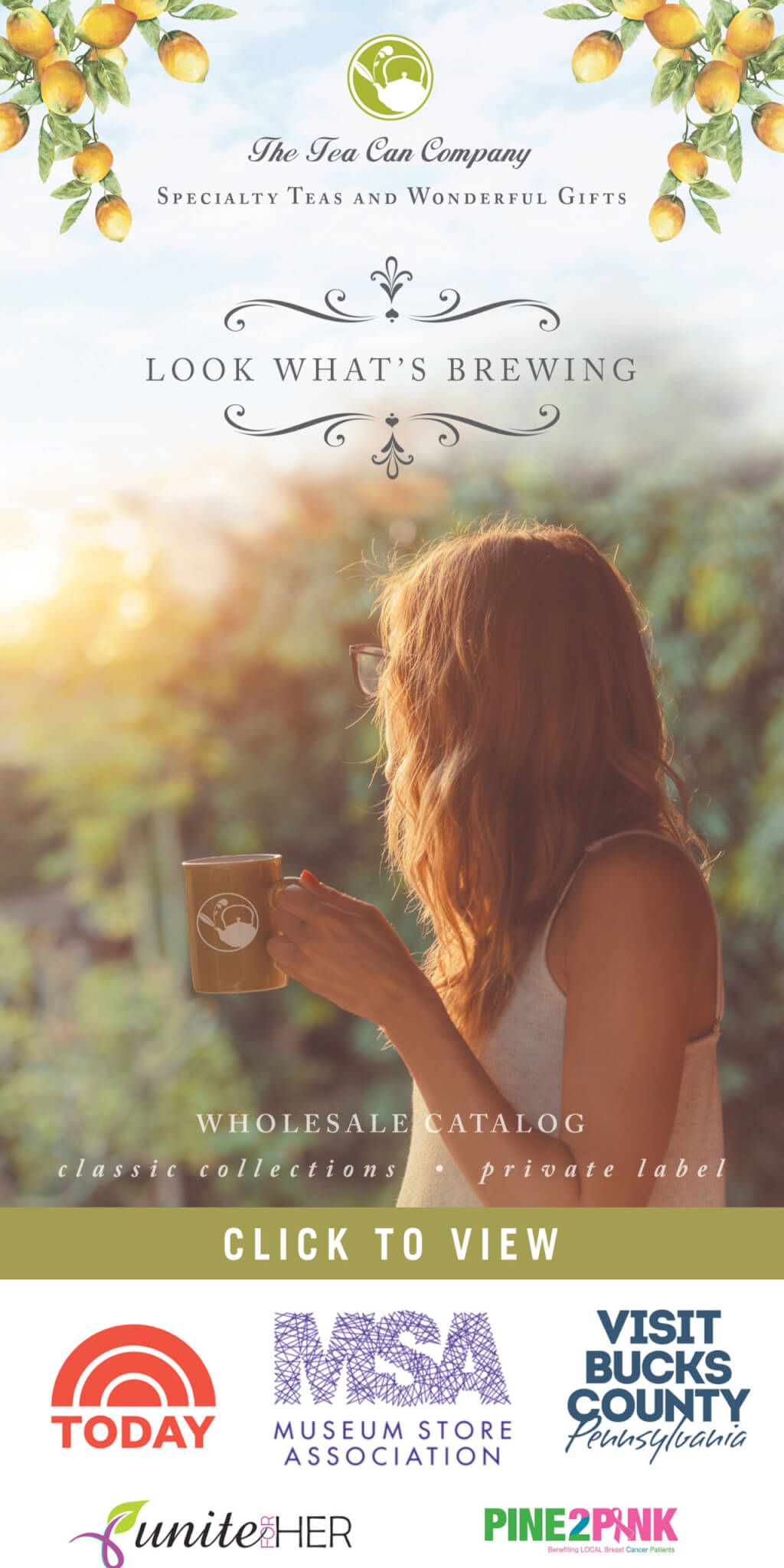 2021 The Tea CAn Company Wholesale Catalog with Logos